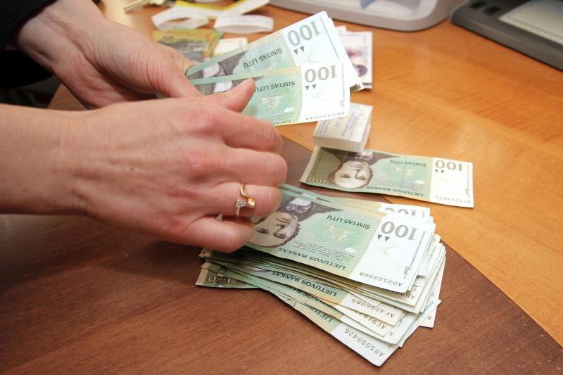Vilniuje  atlyginimai 30 proc. didesni nei Tauragėje