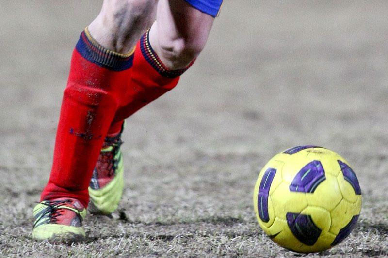 Dėl žemės drebėjimo atšauktos futbolo rungtynės