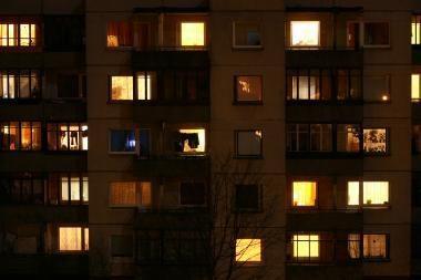 Vilniuje pro langą daiktus mėčiusiems asmenims apribota laisvė