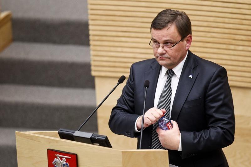 Seimo  Pirmininko  Vydo  Gedvilo   kalba