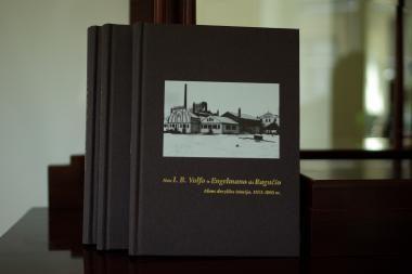 Istorinė knyga apie Kauno alaus pramonę