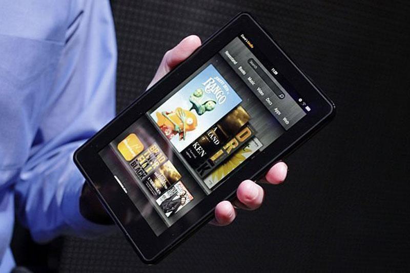 """""""Amazon"""" anonsavo naujos kartos """"Kindle Fire"""" ir """"Kindle"""" šeimyną"""