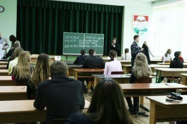 Prognozė: padaugės egzaminų neišlaikiusių dvyliktokų