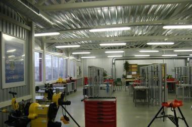 Kauno statybininkų rengimo centre - naujos dirbtuvės
