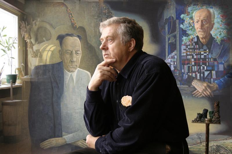 J.Vosyliaus tapybos parodoje – klaipėdiečių portretai