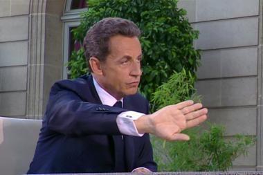 Sarkozy griežtai atmetė kaltinimus dėl nelegalaus kampanijos finansavimo