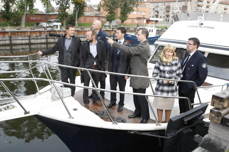 """Netrukus paaiškės, ar Klaipėda taps regatos """"Volvo Ocean Race"""" uostu"""