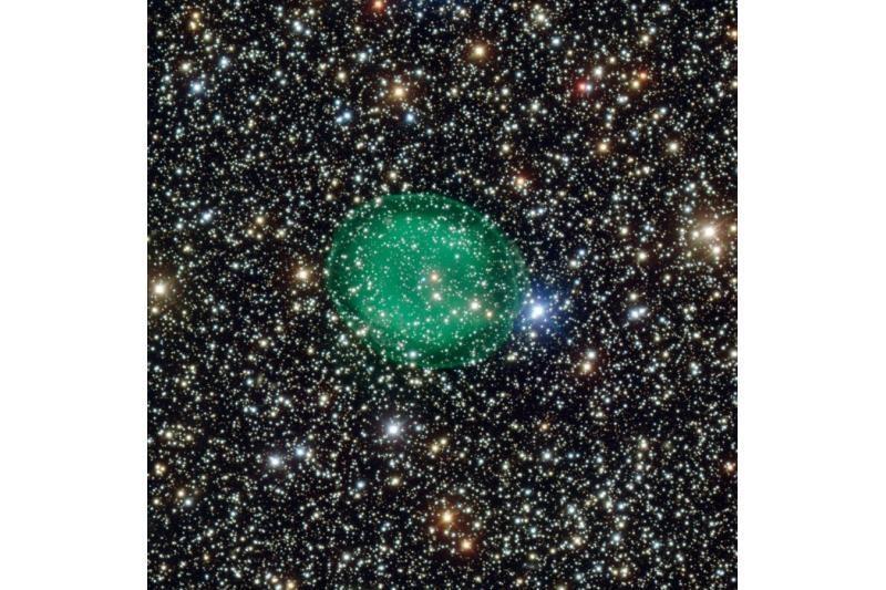Neįtikėtina raiška nufotografuotas mirštančios žvaigždės vaiduoklis
