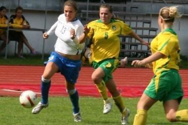FIFA moterų futbolo rinktinių klasifikacijoje Lietuvos vienuolikė 80-a