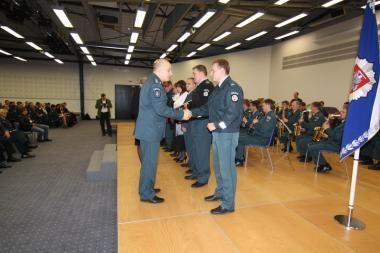 Policijos profesinės šventės išvakarėse apdovanoti pareigūnai