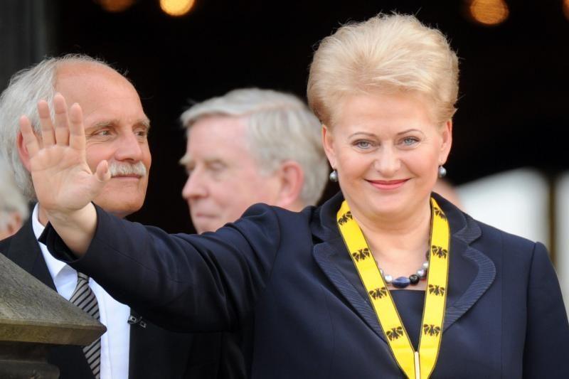 D. Grybauskaitei – Džordžtauno universiteto garbės daktaro vardas