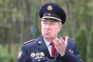 Klaipėdos ugniagesiai atsisveikino su ilgamečiu vadu