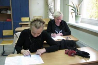 Apskrities gyventojų Konstitucijos egzaminas nesudomino