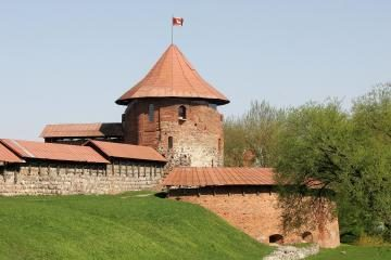 Tualetas prie Kauno pilies – nelegalus