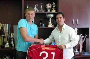 Vartininkas iš Lietuvos žais Vengrijos čempionų komandoje