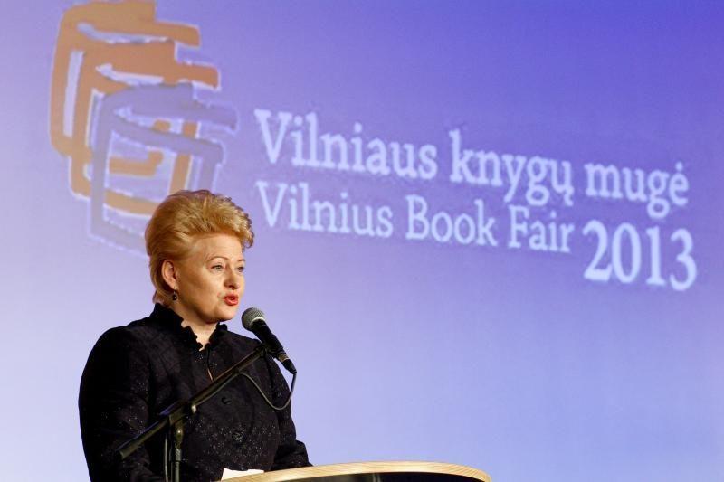 Prezidentė: lietuviai – skaitanti ir kūrybinga tauta