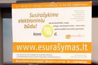 Internetu surašyti 36 proc. Klaipėdos gyventojų