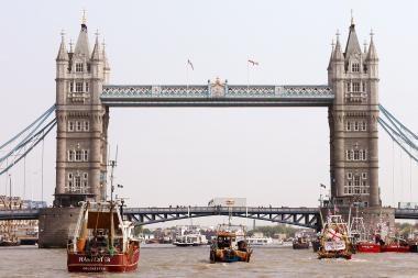 Didžiosios Britanijos centrinis bankas sumažino ekonomikos augimo prognozę