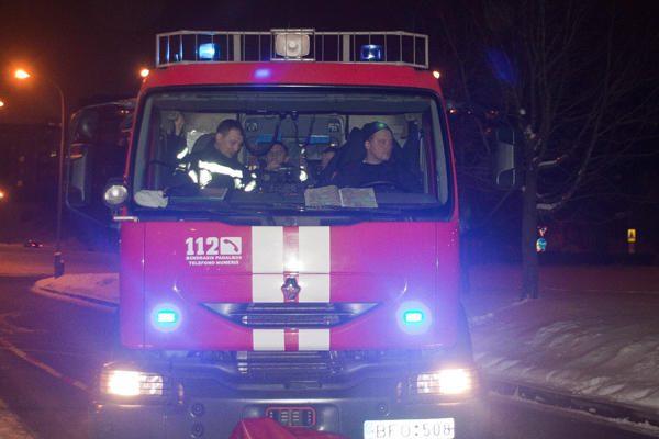 Kretingos rajone vilkiko gaisre sunkiai sužalotas žmogus