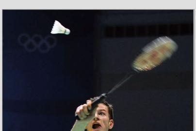 K.Navickas baigė pasirodymą badmintono turnyre Paryžiuje