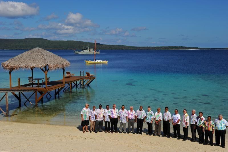 Kiribačio valstybė planuoja persikelti