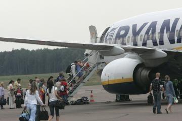 Kauno oro uoste - rekordinis žmonių skaičius
