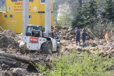 Statybininkai prarado turto už 10 tūkst. Lt