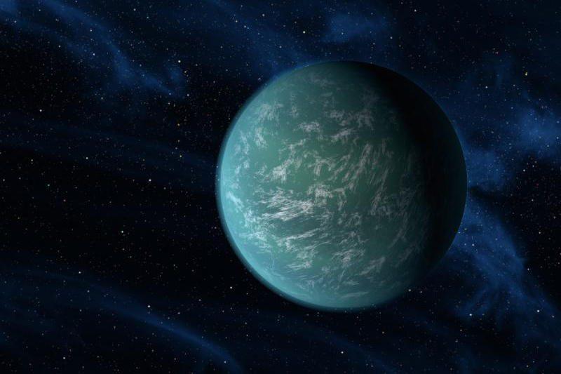 "Kosmosas: ""Hubble"" atrado vandens planetą"