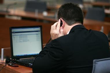 Verslo klientai raginami naudotis elektroninėmis sąskaitomis