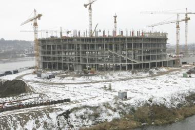 Kauno arena dygsta, bet derybos dėl jos valdymo kelia nerimą
