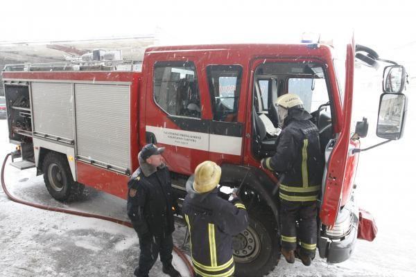 Viename iš Klaipėdos sporto klubų - gaisras (papildyta)