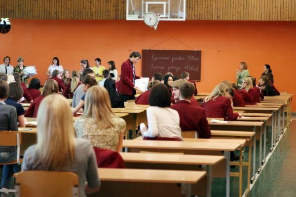 Istorijos egzamine nepasirodė rekordinis skaičius abiturientų