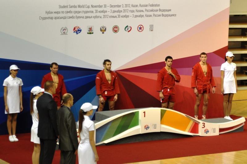 Klaipėdiečiui sambo imtynių turnyre – bronzos medalis
