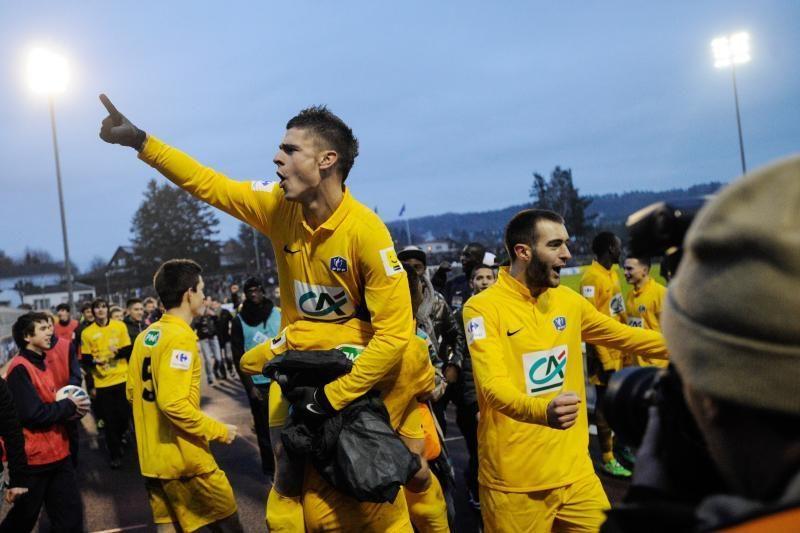 """Trečiosios lygos komanda iš Prancūzijos taurės pašalino """"Lyon"""" klubą"""