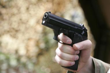 Palangiškis nuo užpuolikų gynėsi šaudydamas