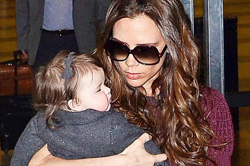Davido ir Victorios Beckhamų dukrelė - stilingiausia pasaulyje
