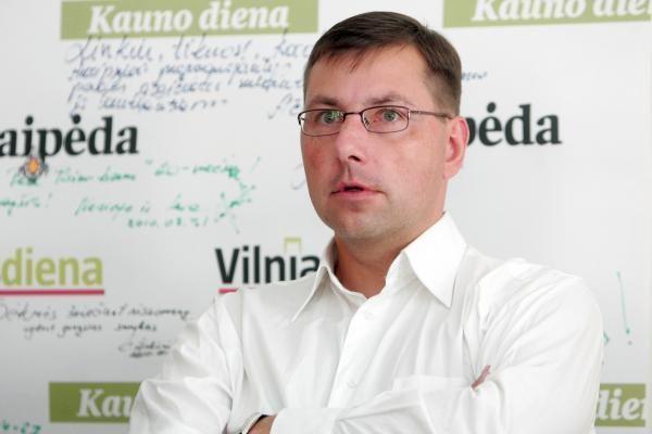 G.Steponavičius žada didinti mokinio krepšelį kaimo mokyklose
