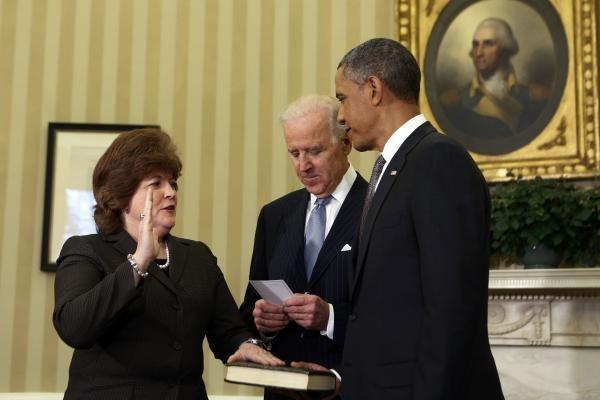 Prisaikdinta pirmoji JAV Slaptajai tarnybai vadovausianti moteris