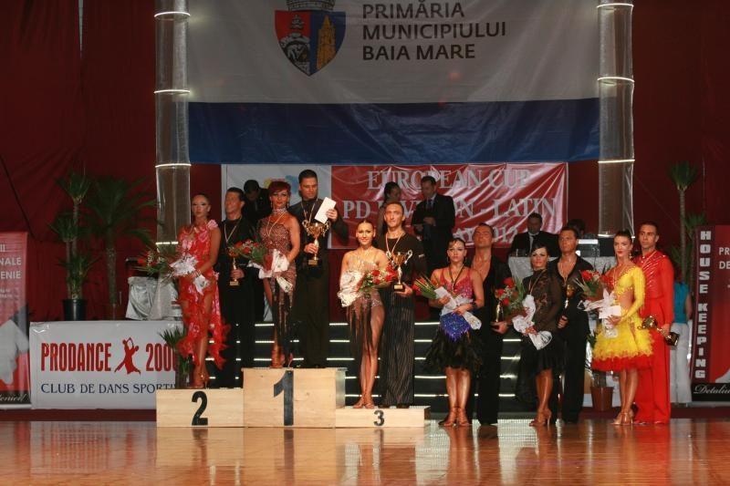 Kauniečiai – penkti profesionalių šokėjų Europos taurės varžybose