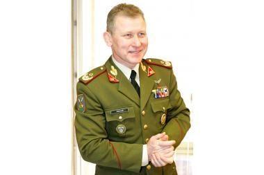 Nemenčinėje susitinka Baltijos šalių kariuomenių vadai