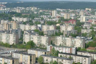 Vilniaus mikrorajonai sužibs skirtingomis spalvomis