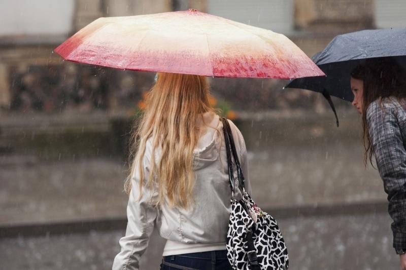 Savaitgalis bus lietingas ir vėjuotas