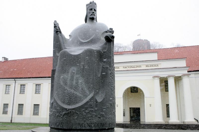Latvijoje iškils paminklas        Mindaugui