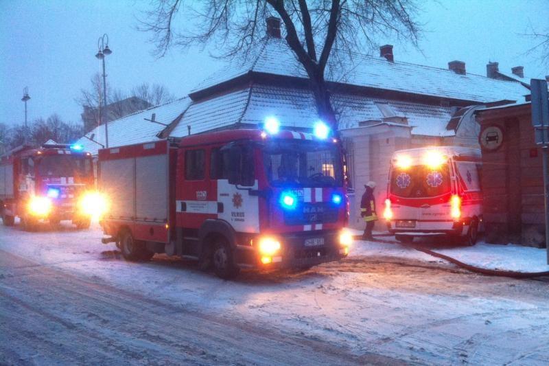 Šią žiemą sostinėje kilo 16 proc. mažiau gaisrų