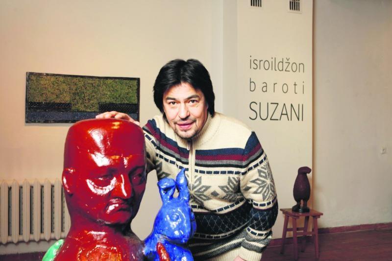 """""""Suzani"""", arba Keramiko I.Baroti siuvinėjimai moliu"""