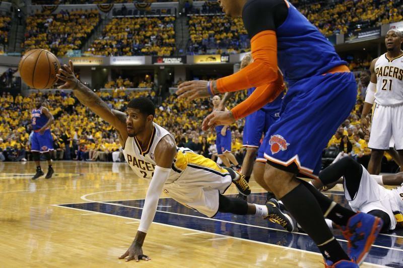 """Geležinę gynybą pademonstravę """"Pacers"""" dar sykį įveikė """"Knicks"""""""