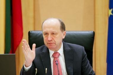 Premjeras: parama apkaltai neturėtų sutrukdyti koalicijos plėtros