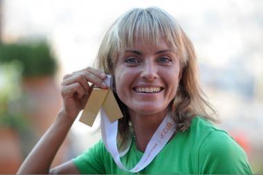 Europos maratono čempionė Ž.Balčiūnaitė  įtariama dopingo vartojimu