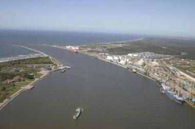 Klaipėdos uoste – Lenkijos žiniasklaidos atstovų vizitas