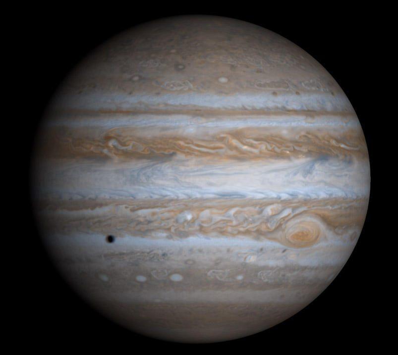 Gruodžio danguje Jupiteris taps Kalėdų žvaigžde